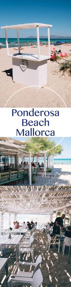Ponderosa Beach Mallorca Strandbar Tipp an der Playa de Muro