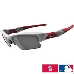 eec006b769 Oakley Philadelphia Phillies Flak Jacket XLJ Men s Special Editions Major  League Baseball Sports Sunglasses Eyewear w  Free B Heart Sticker Bundle ...