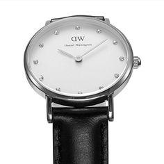 Daniel Wellington Damen-Armbanduhr XS Classy Sheffield LADY SILVER Analog Quarz Leder 0921DW - http://uhr.haus/daniel-wellington/daniel-wellington-damen-armbanduhr-analog-quarz-13