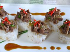 Beef sauté bites with rice - theMatchaGreen