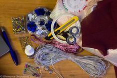Изготавливаем новогодние текстильные шары - Ярмарка Мастеров - ручная работа, handmade