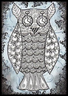 'Silver Owl' by Fatma