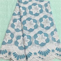African Embroidery Lace Fabric LKLACE4301-15  https://www.lacekingdom.com/      #embroiderylace