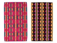 A sumptuous, oversized towel is a must for comfy beach and pool lounging. Our top pick is any design from the chic new graphic-print beach towel line by legendary brand Pendleton. The towels feature the label's signature Native American-inspired blanket patterns in pure cotton velour that's sheared on one side and looped on the other, so they're luxuriously cozy and incredibly fast to absorb water. For a little bit extra, they can even be personalized with a name or monogram. $48