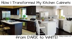 Two years ago I transformed my kitchen cabinets from a dated-oaky color to a dark espresso finished all for under $100 (click here to see that). I was extremely…