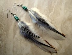 Hey, I found this really awesome Etsy listing at http://www.etsy.com/listing/100054664/feather-earrings-natural-colors-beaded