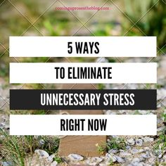 an introduction to the ways to eliminate stress People have many ways to handle stress, but the top three common ways to reduce stress are:  chapter 1 stress introduction stress is a common thing in everyone's life  stress is unavoidable and it is not possible to eliminate it from our lives entirely.