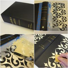 How To Create A Gorgeous Antique-Looking Book Using Wood Icing™ :: Hometalk