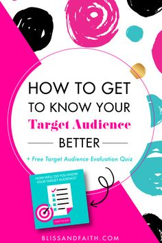 How to Get to Know Your Target Audience Better Get To Know Me, Getting To Know You, Business Analyst, Spa, Blog Planner, Target Audience, Blog Tips, Bellisima, Knowing You