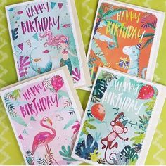 Match the card to the gift wrap with Jack & Lily our children's range and first time collaboration  with @greetingsbyling. Bright colourful and perfect for parties!