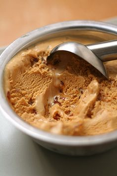 Dessert? Caramel salted Butter Ice Cream from David Lebovitz