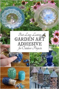 This is the adhesive I use to glue almost all of my garden art projects when I want them to have permanent bonds that endure both cold Canadian winters and hot summers.