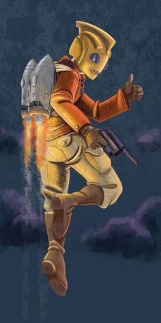 Rocketeer by ~enormus33 on deviantART