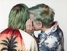 thefakeoriginal: Saint Laurent by Hedi Slimane S/S Surf Sound In Loco, Hedi Slimane, Riot Grrrl, Anthony Vaccarello, Jojo Bizarre, Jojo's Bizarre Adventure, My Hair, Surfing, Saint Laurent