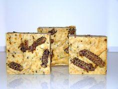 Sabão artesanal natural de azeite e rosmaninho