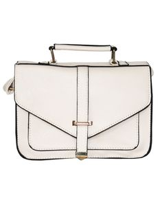 IT BAG 2.0 | IVORY CROSS SATCHEL