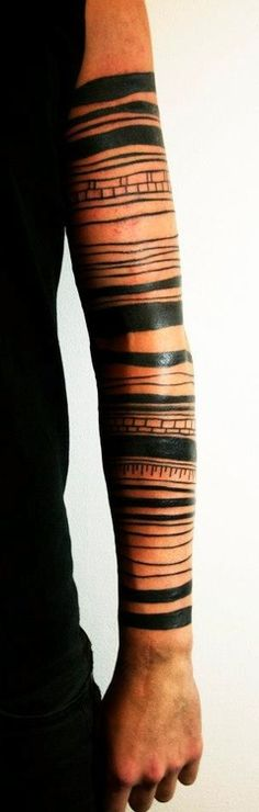 """If I were a geologist, this might be cool as a """"layers of the earth"""" style tattoo."""