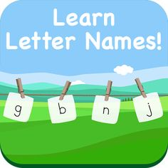 Teach your children about letter names and the alphabet using your smartphone or tablet!