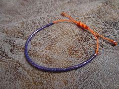 браслеты тонкие цвета мандарин4