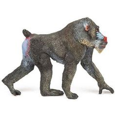 Clay Figures, Action Figures, Mandrill Monkey, Kids Globe, Monkey Art, Collectible Figurines, Toy Store, Pet Toys, Animal Pictures