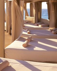 Guests can rent cabanas by the pool for an afternoon of lounging and cocktail service. #Jetsetter