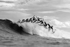 Surf in slow moooo..