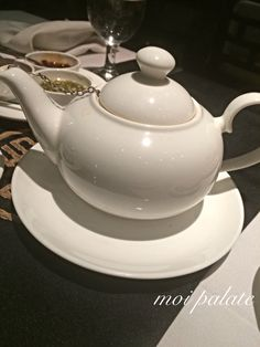 Final finish to a great dinner to wash down all the spices! Green Tea