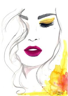 Fashion Illustrations by Jessica Durrant http://www.cuded.com/2012/08/fashion-illustrations-by-jessica-durrant/
