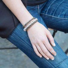 PROMISES, PROMISES bracelet by Katie Dean Jewelry.