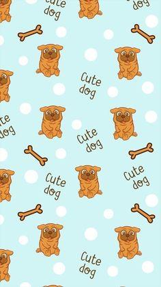 74 Best Cute Dog Phone Wallpapers Images On Pinterest Kawaii
