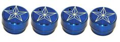 All Sales Interior Dash Knobs (set of 4 ) AC+4wd knob- Star Blue - Cap off your truck's interior in style with our huge collection of heater/ac knobs, radio dials, levers and locks. Quick and easy to install…just pull off and push on!Fits: Ford 04-08 F150. Automotive > Automotive Accessories. Weight: 1.00