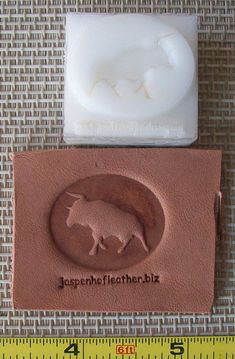 Leather Embossing dies I could have saved so much money on dies if i knew about this company - have some fun and have a die made! I'm putting this on each of my boards