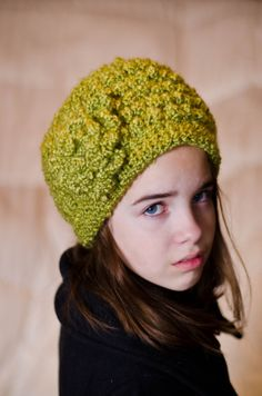 Sage Green Bobble Beanie From Etsy $20