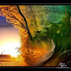 """Good Sunday Morning """"Dawning Wedge""""   Yesterday I charged up to Wedge for some early morning tubes. The Wedge definitely has a flair for the dramatic.  Follow and share is you like Dawning Wedge.   Mahalo.. Follow   IG @LarryBeard  IG @SolitaryExposure  FB /SolitaryExposure   View the SE Waves Collection  http://store.lbeard.com/p846526349 -"""