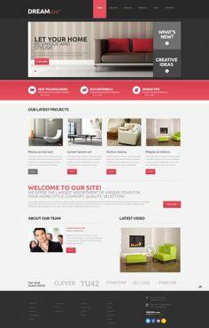 'Dream Home' #webdesign #WordPress theme http://www.zign.nl/