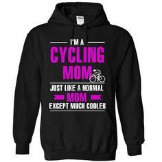 Cool Cycling mom - #linen shirt #wholesale sweatshirts. FASTER => https://www.sunfrog.com/LifeStyle/Cool-Cycling-mom-5154-Black-26571912-Hoodie.html?id=60505