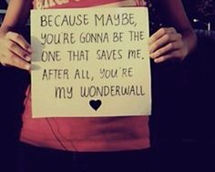 My wonderwall
