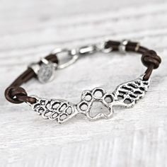 Paws Forever Bracelet from Island Cowgirl Jewelry