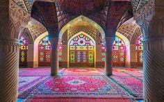 Nasir ol Molk Mosque – Shiraz, Iran