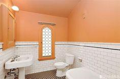 1925 original art deco bathroom 110 Santa Clara Ave, San Francisco, CA 94127