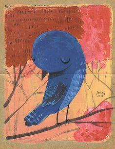 #bird by Gustavo Aimar