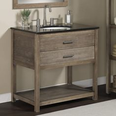 Bathroom Solid Wood 24 Inch Granite Top Single Sink Bathroom Vanity The sweet 24 inch bathroom vanity for your house