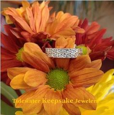 Diamond Anniversary Band from Tidewater Keepsake Jewelers