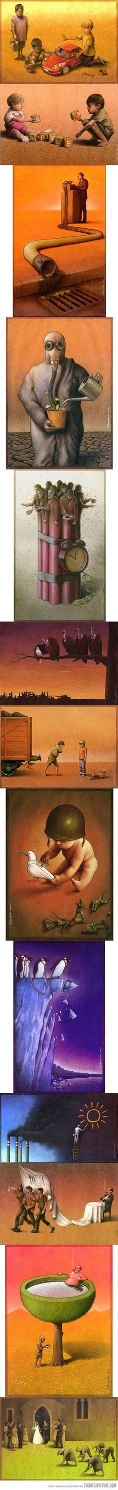 Pictures that make you think