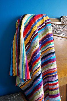 crocheted blanket by Studio SOIL, via Flickr. Inspiration only.