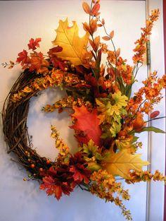 Autumn Splendor Wreath $50.00