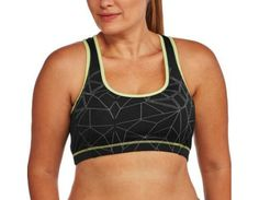 704a82df96f32 Women s Plus-Size Sports Bra W   Contrast Color and Reflective   Walmart.com