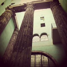 Columnes del Temple d'August #Barcelona #BarcelonaCultura #BCN