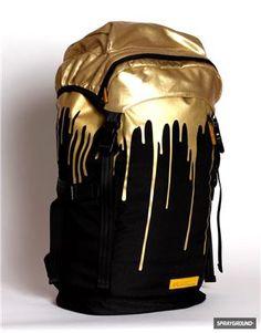 Sprayground - #Gold Drips #Top #Loader #Backpack #mensfashion #men