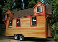 Tiny house with dormers